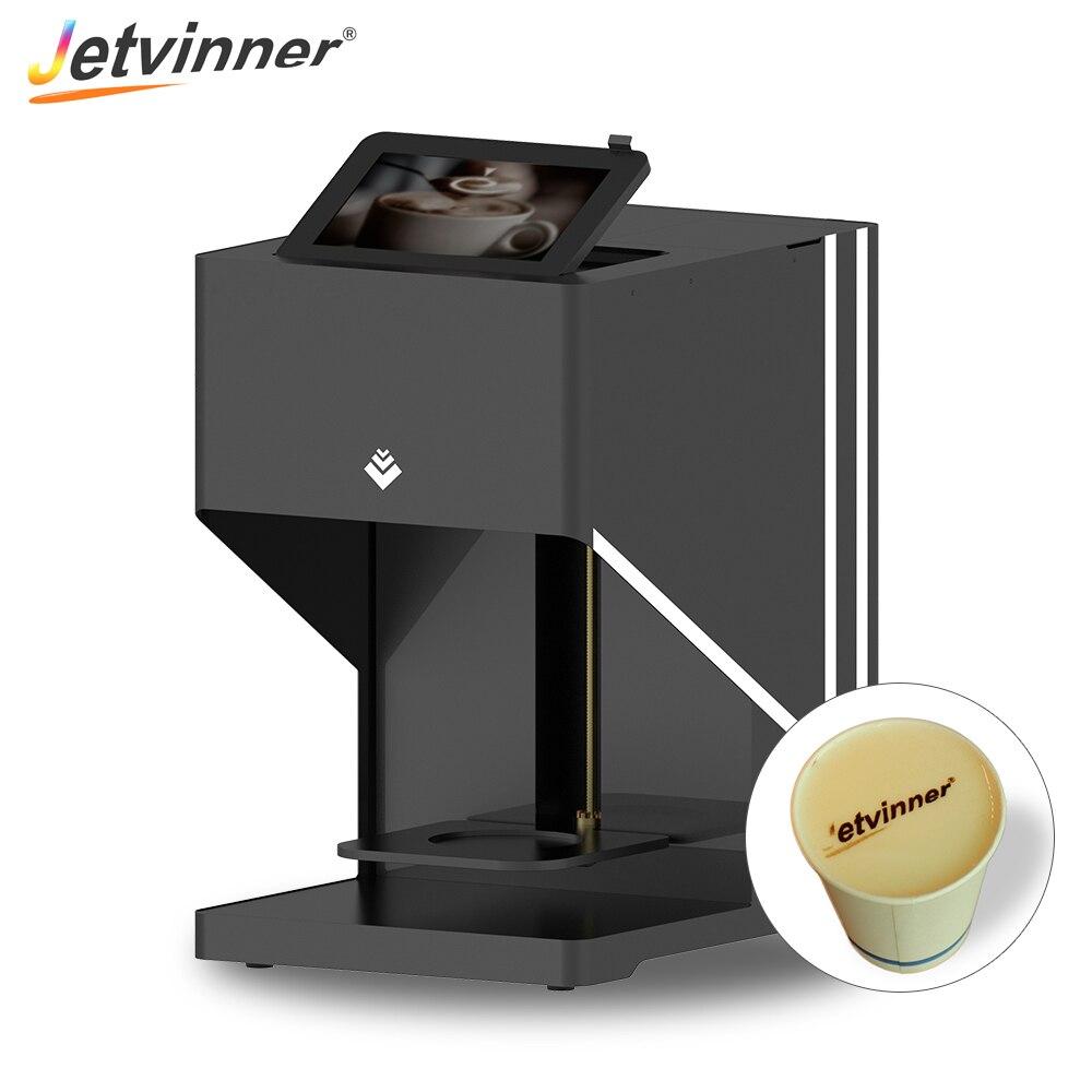 Impresora de café Digital automática Jetvinner Latte de impresoras de inyección de tinta para Latte, galletas, pan, té de leche, cerveza, dulces Macarons