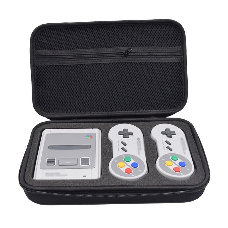 Чехол для игр, сумка для Nintendo Switch SNES SFC Classic Mini для 2 контроллеров, зарядное устройство, кабель HDMI, чехол для Nintendo Switch, Жесткий Чехол