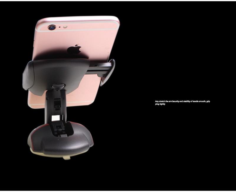 "Soporte de teléfono de escritorio de oficina para coche, soporte de montaje para DEXP Ixion X147 X155 X250 X255 XL140 XL145 XL240 Y E 4 ""5"" ES 3,5"""