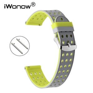 Ремешок для часов, из силиконовой резины, для LG G Watch Urbane Asus ZenWatch 1, 2, WI500Q, WI501Q