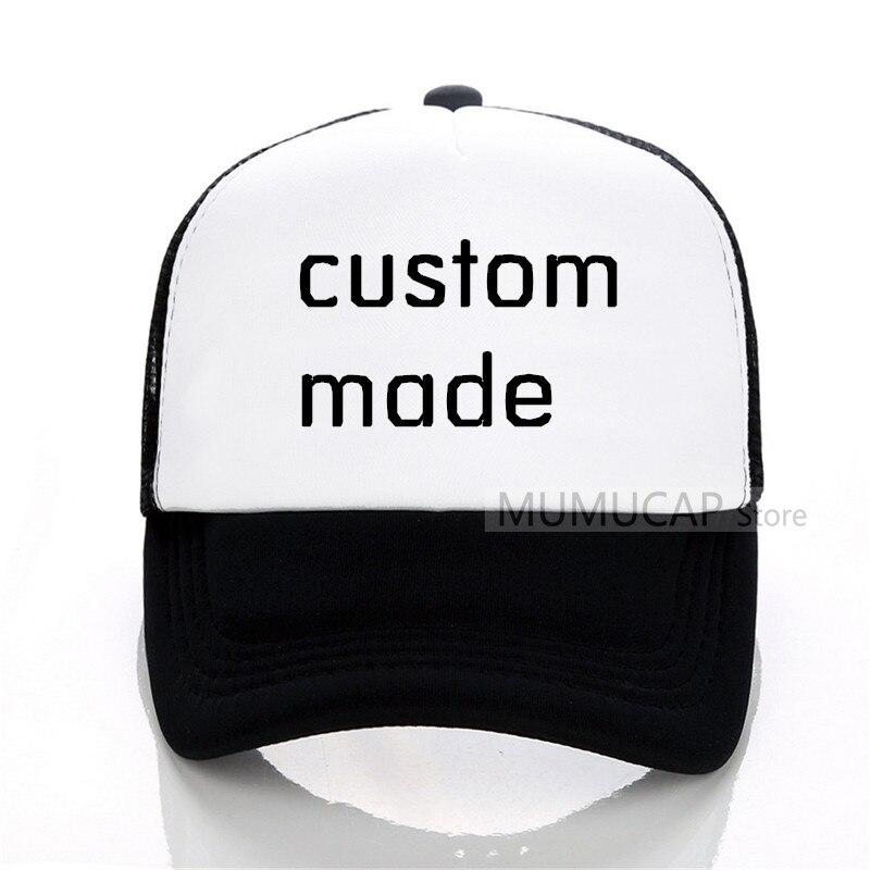 Own Design Custom Made Cap Embroidery Baseball Cap Men Women Embrodered Logo Baseball Caps Ball Hat Free Shipping