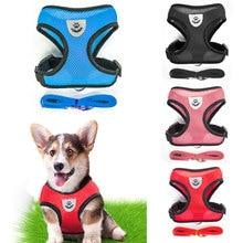 Traspirante Piccolo Pet Dog Harness e Guinzaglio Set del Cucciolo del Gatto del Fascio di Maglia Del Collare Per Chihuahua Pug Bulldog Gatto arnes perro