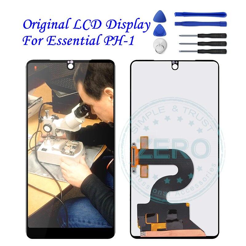 Original para Essential PH1 LCD pantalla táctil Panel para PH-1 esencial LCD digitalizador ensamblaje piezas de repuesto