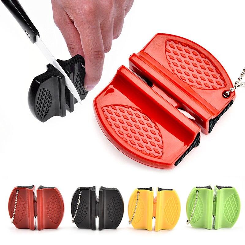 Tragbare Mini ABS shell Keramik Rod Wolframstahl exquisite Spitzer Camp Taschen Home Kitchen Messerschärfer Werkzeug