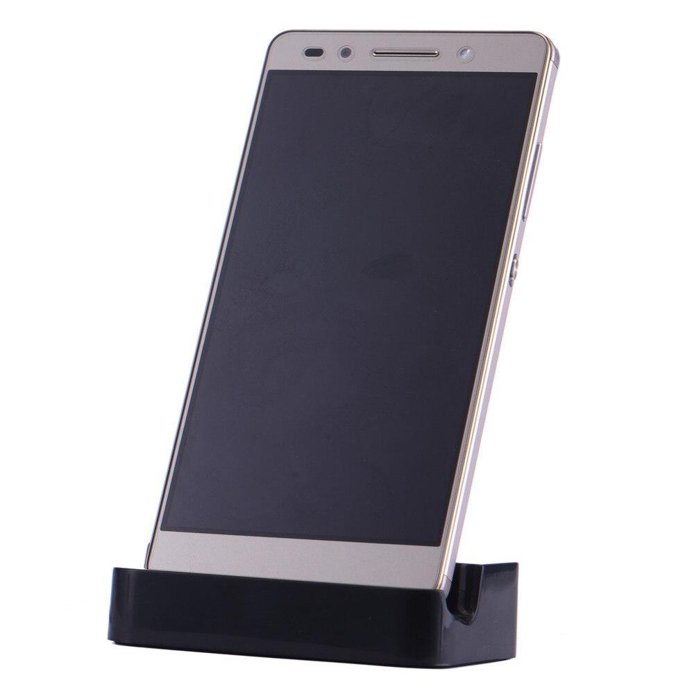 Cargador para teléfono cargador Micro sincronización de datos USB cuna de carga de escritorio cargador Estación de soporte para teléfono Android