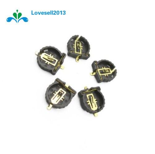 20pcs Computer Button 3V Battery Holder Conntor Socket Case CR1220