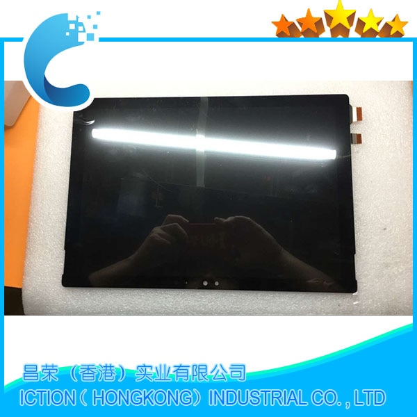 Montaje de LCD Original para Microsoft Surface Pro 4 (1724) LTN123YL01-001 pantalla LCD con pantalla táctil digitalizador Asamblea 2736x1824