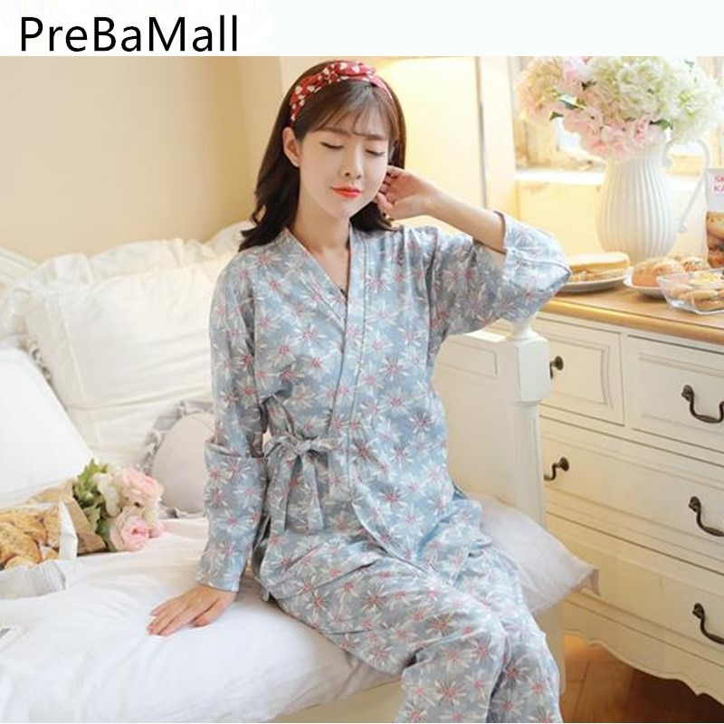 New Arrive 3 pcs Breastfeeding Pajamas For Pregnant Women Long Sleeve Maternity Nursing Sleepwear Pregnancy Clothing Sets D0006 enlarge