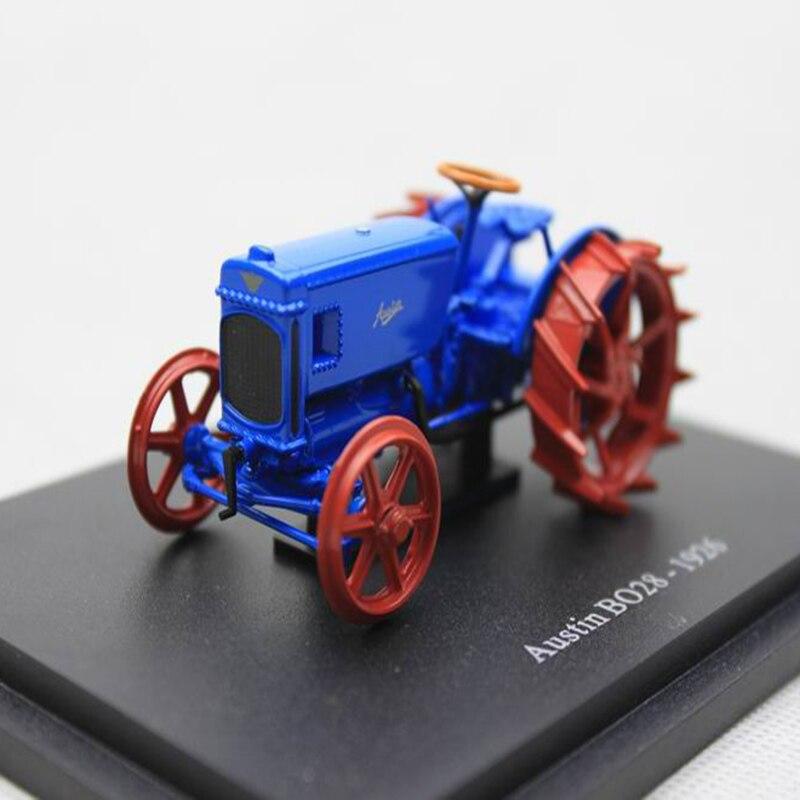 Simulación 143 Retro. Austin BO28-1926 Tractor modelo de recogida de aleación de fundición modelo de agricultor