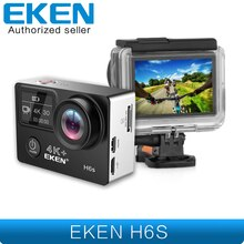 EKEN H6s 4K + Utral HD 14MP met EIS Remote Sport Camcorder Ambarella A12 Chip Wifi 30m Waterdicht panasonic Sensor Actie Camera