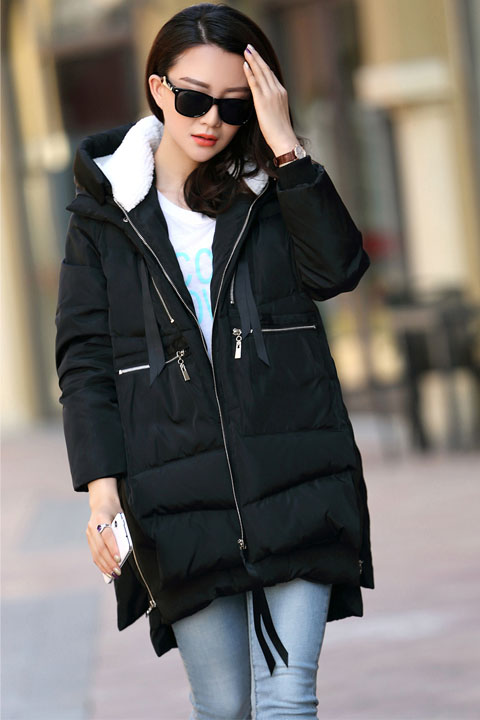 Winter coat Military Hooded Fashion Thicken Down Woman Coat Pregnant Women Pregnancy Coats Outerwear Jackets Plus 5XL Maternity enlarge