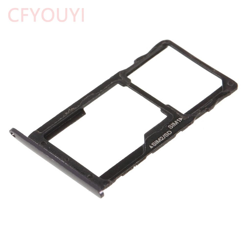 10 unids/lote para Motorola Moto G5S SIM bandeja + bandeja de tarjetas Micro SD soporte pieza de reemplazo