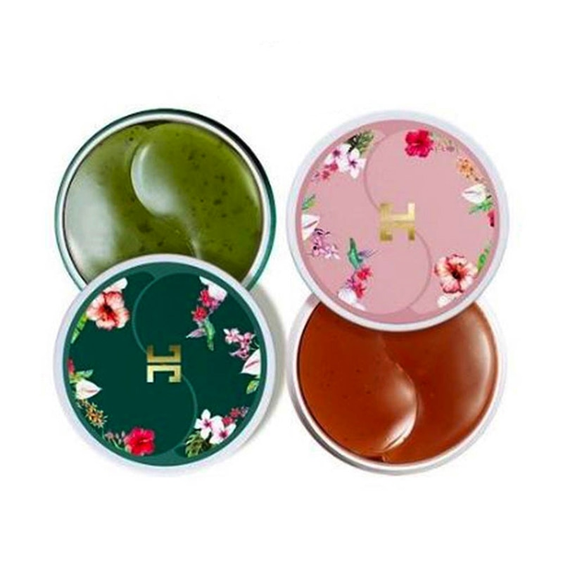 JAYJUN зеленый чай маска для глаз 60 шт. + Roselle гелевая маска для глаз 60 шт. коллагеновая маска для ухода за глазами Гиалуроновая кислота маска для глаз корейская косметика