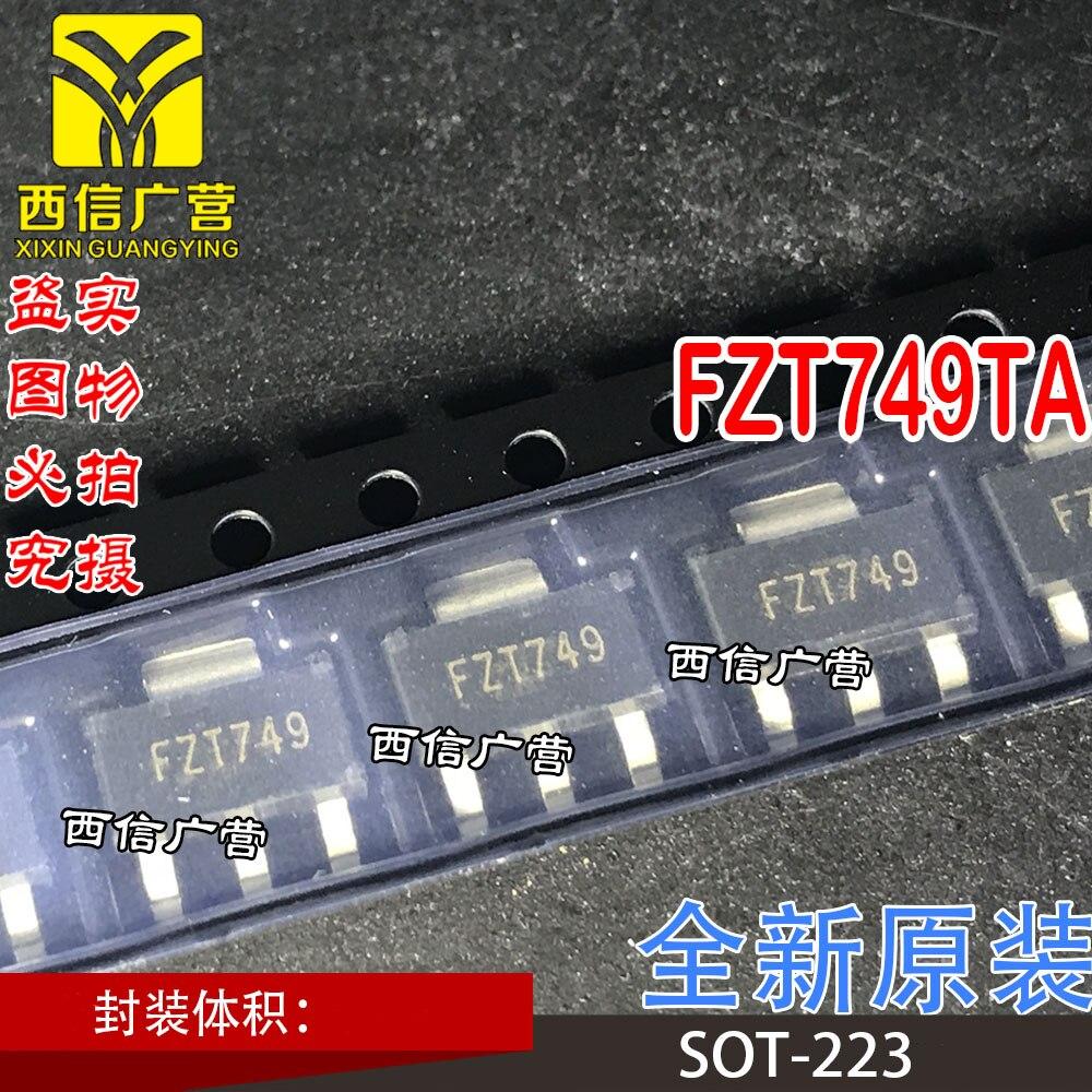 Новый оригинальный 10 шт FZT749TA FZT749 SOT-223