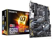 New original motherboard Gigabyte B360 HD3   LGA 1151 DDR4  B360  desktop  E-sports game computer motherboards