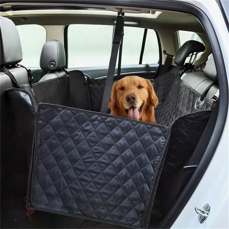 Защитный чехол для собак/домашних животных, одеяло для заднего сиденья автомобиля, высококачественный гамак из материала Оксфорд, нескользящий Водонепроницаемый двойной сидящий собачий коврик