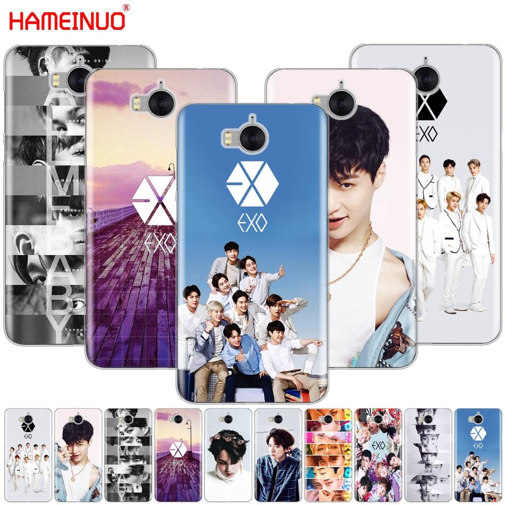 HAMEINUO Kpop exo Lucky One caso de la cubierta del teléfono celular para huawei honor 3C 4X 4C 5C 5X 6 7 Y3 Y6 Y5 2 II Y560 2017