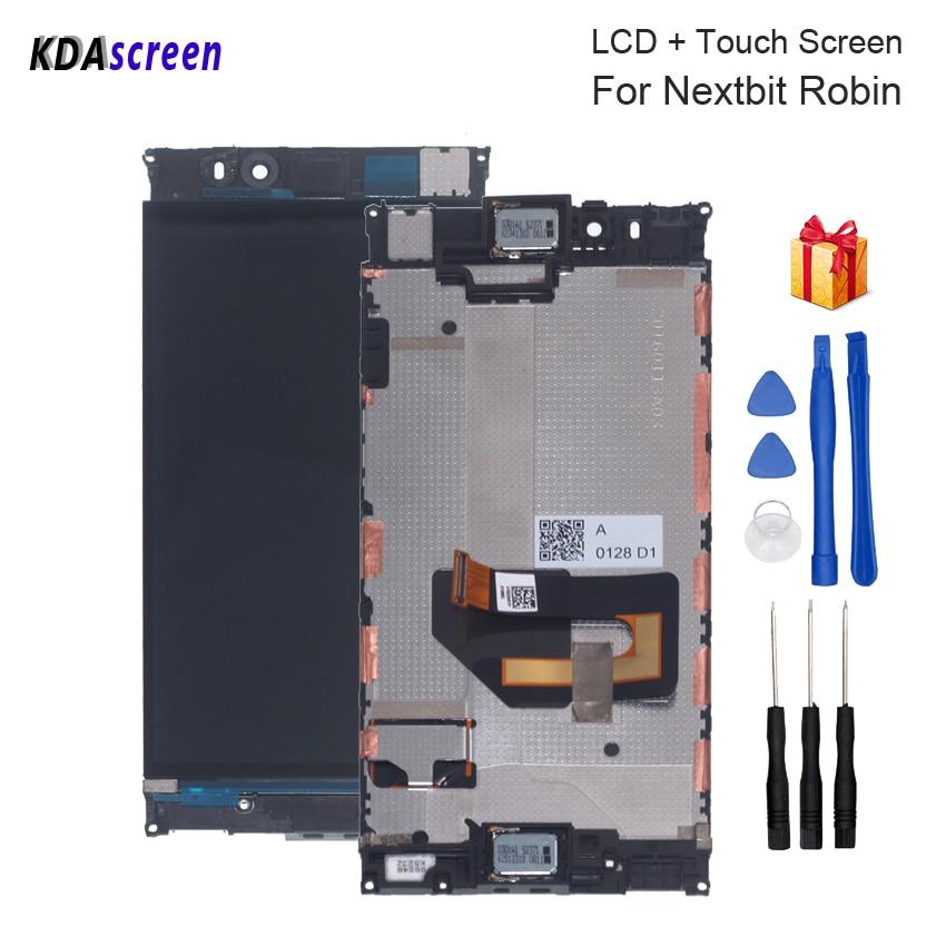 Pantalla táctil de reemplazo Original de 5,2 pulgadas para pantalla LCD Nextbit Robin, piezas de teléfono con pantalla LCD Nextbit Robin