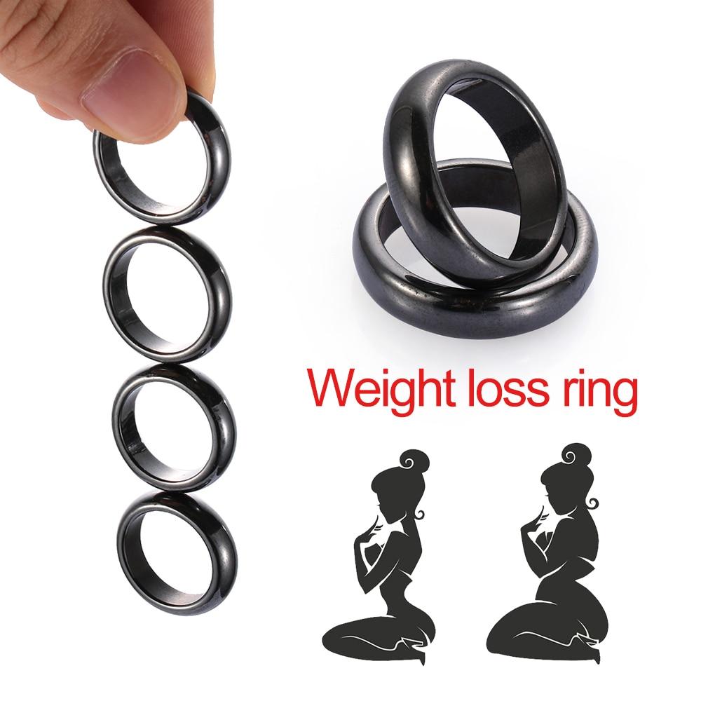 Tamaño 18mm 19mm 20mm 21mm Unisex negro anillo mágico PK anillos de adelgazamiento magnético fuerte pérdida de peso mítico DecorTherapy salud
