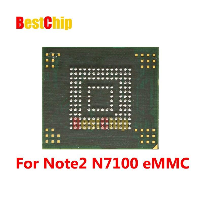 (Chip probado) para Note 2 N7100 NAND memoria Flash KMVTU000LM-B503 KMVTU000LM EMMC con firmware/programado