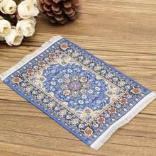 1/12 Dollhouse tapis turc tapis 10x15 cm Miniature maison de poupée accessoires décor TCS001 TCS002