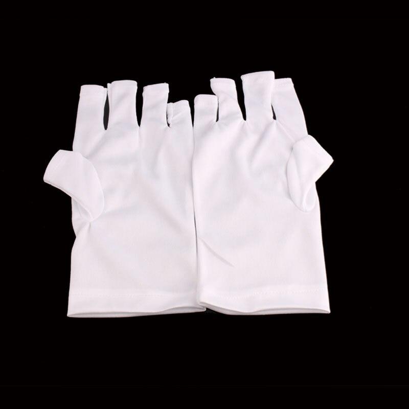 1 Pair UV Protection Glove Nail Art Gel Anti UV Glove UV LED Lamp Nail Dryer Light Radiation Protection Nail Art Tools GL01