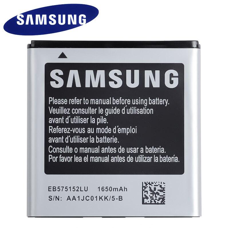 Original de SAMSUNG batería de reemplazo EB575152LU para Samsung Galaxy S I9000 i9001 I9003 I589 I8250 I919 D710 I779 i9105 1650mAh