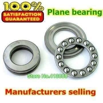 10pcs Free Shipping Axial Ball Thrust Bearing 51105 25*42*11 mm Plane thrust ball bearing