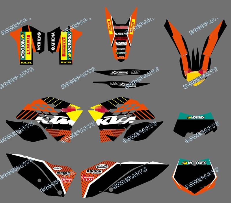 جديد styl (الثور الأسود) rb شعار خلفيات الشارات ملصق رسومات عدة ل KTM دراجة نارية SX XC XC-W EXC 2008 2009 2010 2011