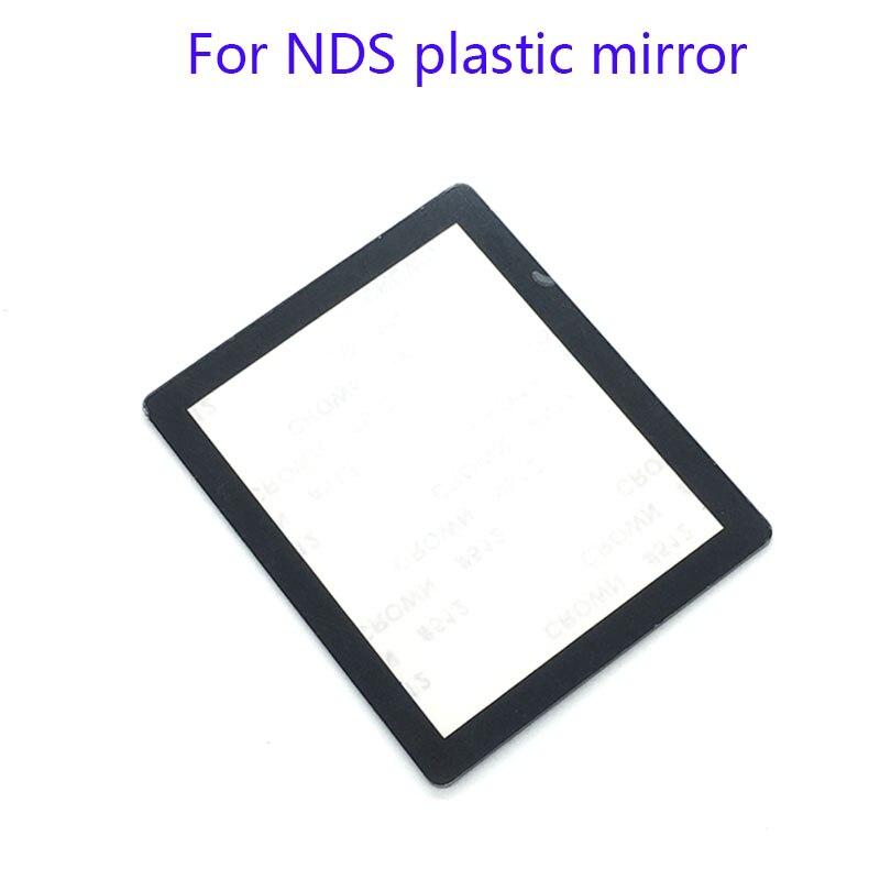 10pcs Para Lens protector para Nintendo DS NDS NDS Tela Lente de Substituição de Peça Para NDS de espelho de plástico