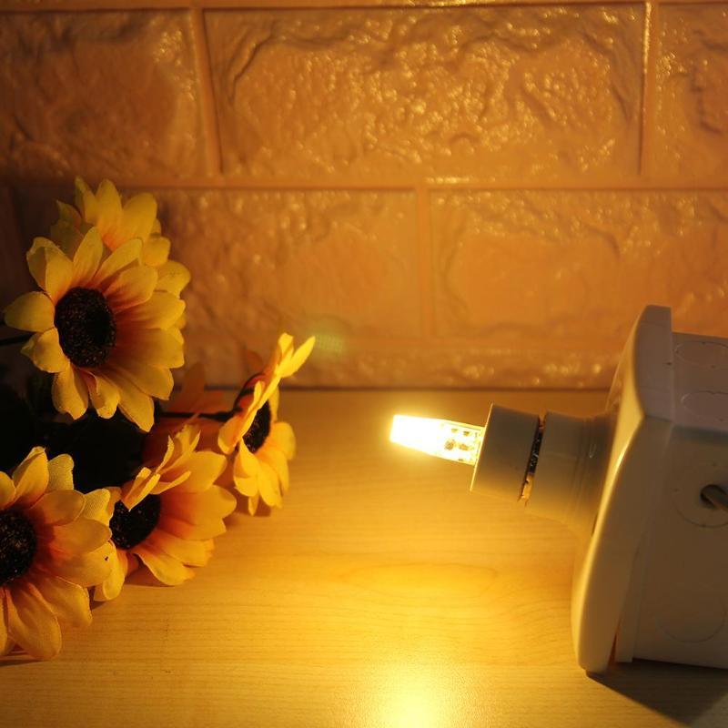 Bombilla LED de maíz regulable GY6.35 CA 12V 3 W, Bombilla de silicona 1508COB para araña, lámpara de cristal, iluminación para decoración del hogar
