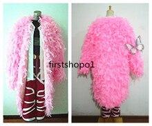 Anime One Piece Joker Donquixote Doflamingo Cosplay Costume Custom Made Any Size