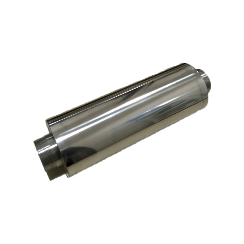 1.2/1.5/2/2.5/3/4 inches  ss silencer for  high  pressure air blower /ring blower/side channel blower/vacuum pump exw 2rb230 7ah16 0 4kw 0 5kw mini pressure aquaculture air blower ring blower side channel vacuum pump compressor