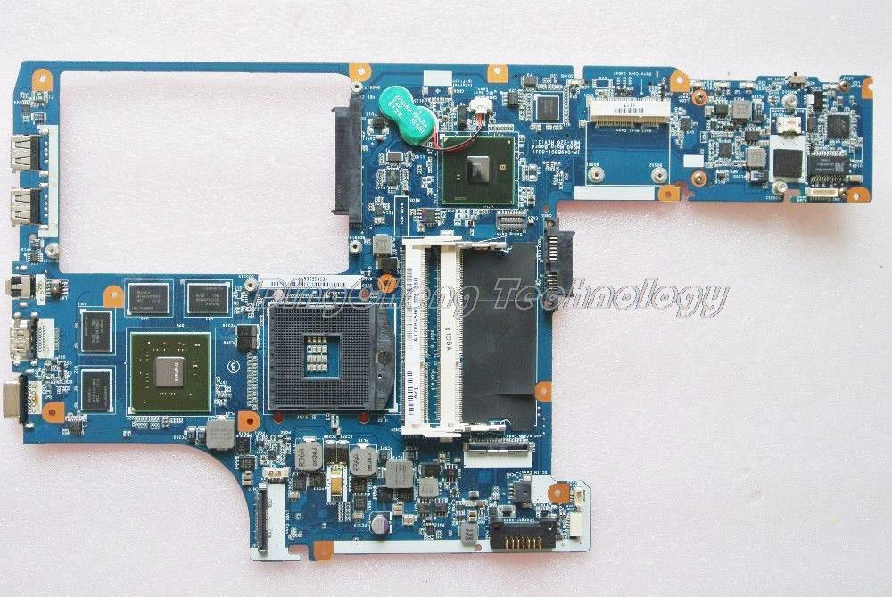HOLYTIME MBX 226 carte mère dordinateur portable pour Sony M9A0 MBX-226 1P-009BJ02-8011 A1768958B pour intel cpu carte graphique non intégrée
