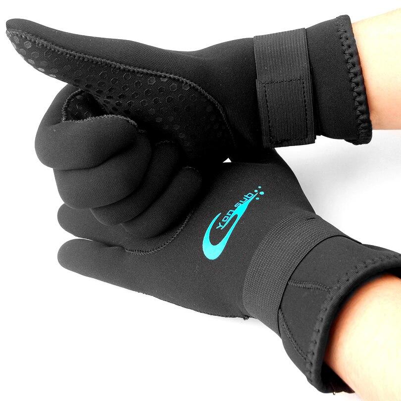 3mm Neoprene Swimming Diving Gloves,Neoprene Gloves With the Magic Stick for Winter keep Warm,Anti-slip
