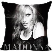 Custom Square Pillowcase Sexy Singer Dancer Madonna Pillow Cover Zippered size 35X35cm,40x40cm Drop Shipping