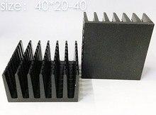 5 stücke kühlkörper IC kühlkörper 40*20-40 MM aluminium-kühlkörper LED kühlkörper