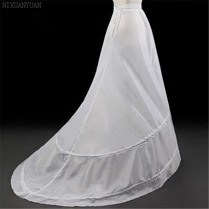 Nixuanyuan atacado 2020 ssyfashion a noiva saias para vestido de casamento trem varredura underskirt forro acessórios