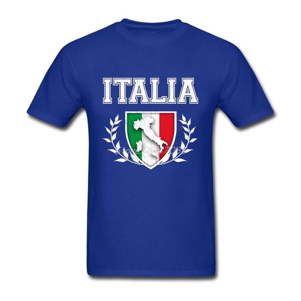 Camiseta con estampado de bandera italiana para hombre, camisa de manga corta...