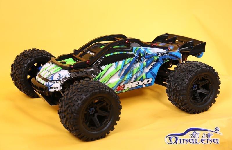 Rc coche jaula cubierta protectora de marco de nylon ruedas bar para 1/10 traxxas E-REVO 2,0 86086-4