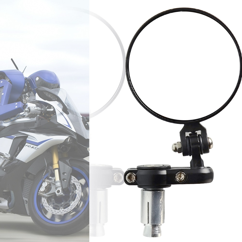 Rétroviseurs de barre ronds pour moto honda   rcycle, vue latérale arrière, universel, moto suzuki bmw kawasaki, accessori ktm, benelli réviseurs