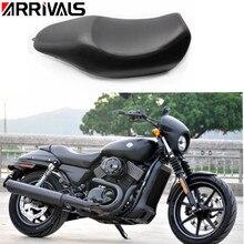 Motorfiets Lederen Driver Seat Pad Pillion Kussen Voor Harley XG500 XG750 Straat Seat Nieuws