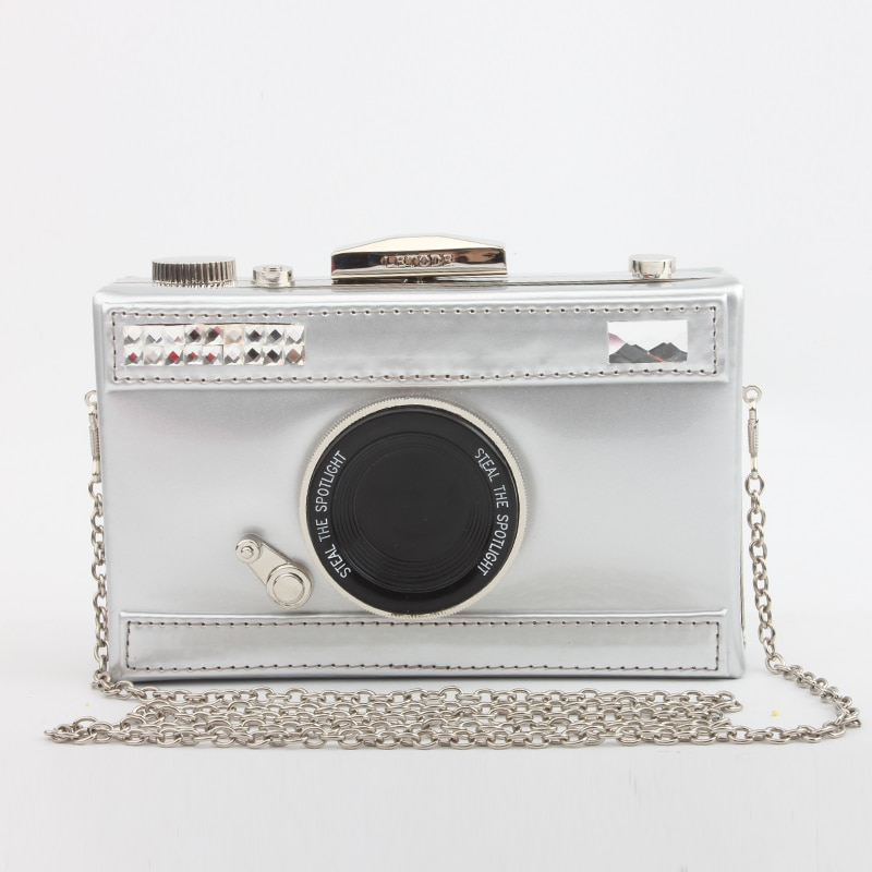 2019 nuevo bolso de mujer de moda bolso de hombro diseño de cámara Vintage bolso de noche bolso de cuero PU bolso cruzado caja bolso de señora