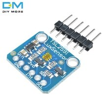 Diymore TSL2591 I2C Light Sensor Breakout Módulo IIC High Dynamic Range Digital Placa TSL25911FN 3.3 V 5 V Eletrônico Diy placa