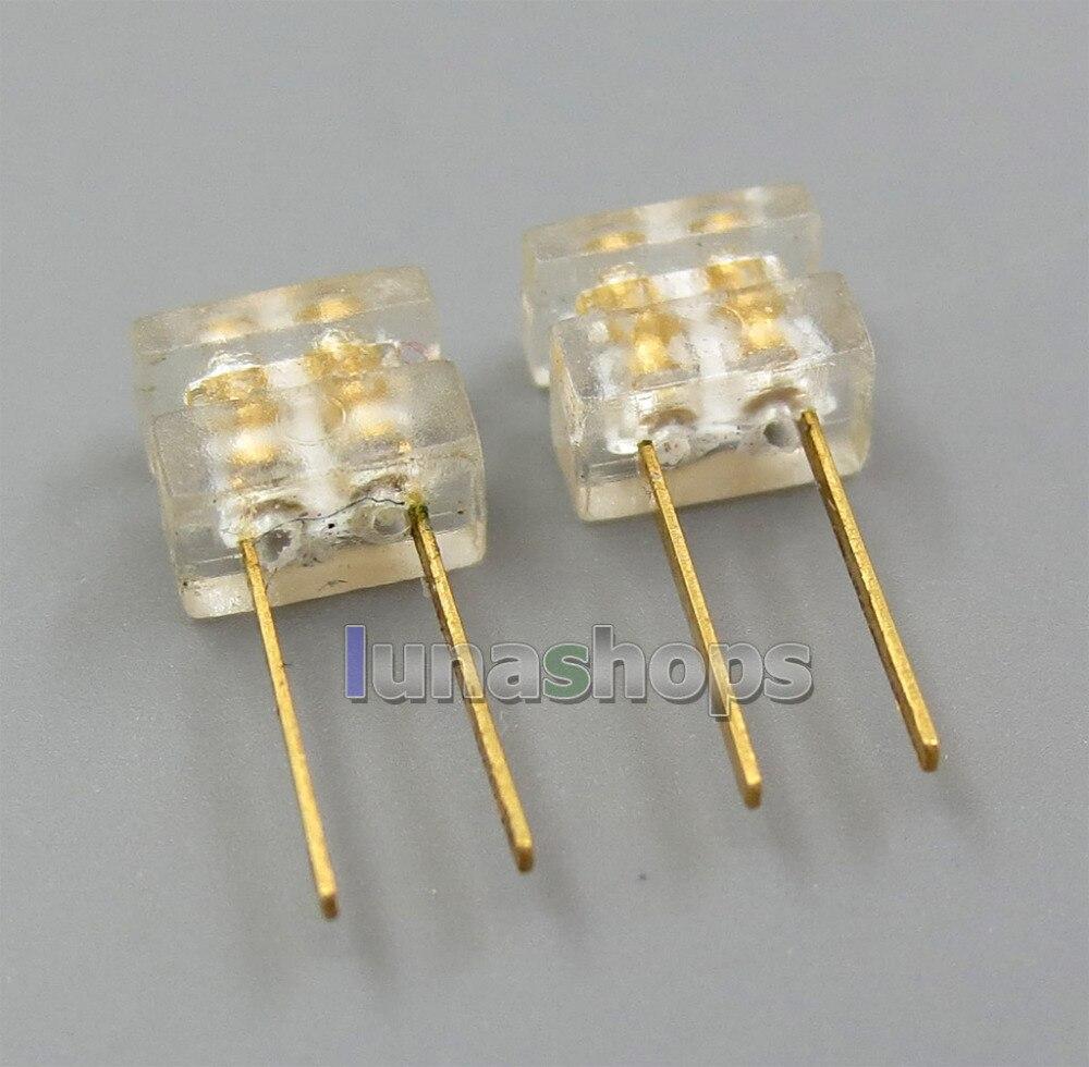 LN005293 enchufe de Puerto hembra 0,78mm clavijas para auriculares enchufe para bricolaje personalizado JH Audio westone 1964 orejas UE etc.