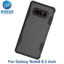 Nouveautés Double couleurs 3 en 1 Absorption hybride antichoc téléphone étui pour samsung Galaxy Note8 Note 8 Coque Coque Capa Fundas