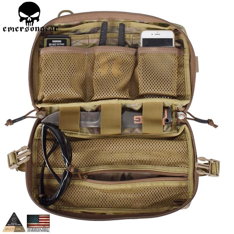 Сумка-капельница EMERSONGEAR, тактическая, многофункциональная, Армейская, для охоты, Мультикам, EM8347