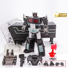 Jinbao Transformation Mini OP Commander MPP10 MPP10-B MPP10B avec rouleau de remorque volant sac à dos figurine Robot jouets