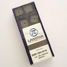 SEKR1203 AFTN LT30 carbide inserts for milling cutter CNC machine