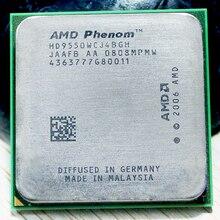 Processeur Original AMD CPU Phenom X4 9550 processeur 2.2G AM2 + 940 broches Quad CORE/2 mo L2 Cache 95w
